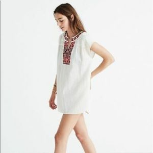 Madewell Embroidered Belize Cover-Up or Tunic EUC